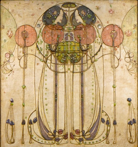 the avant guardian charles rennie mackintosh watercolors. Black Bedroom Furniture Sets. Home Design Ideas