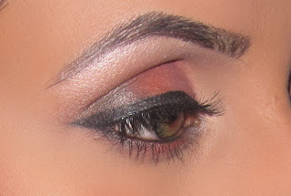 mac, paradisco, saffron, folie, carbon, eyeshadow, smokey, blog, tutorial, look, dazzling