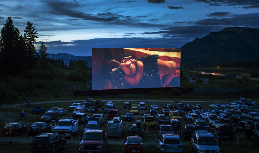 Drive In Movie Toronto >> VernonBlog: In pictures: Movie magic in the Okanagan at Enderby's Starlight Drive-In