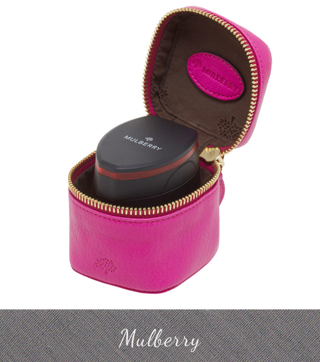 Mulberry Pink Travel Adaptor