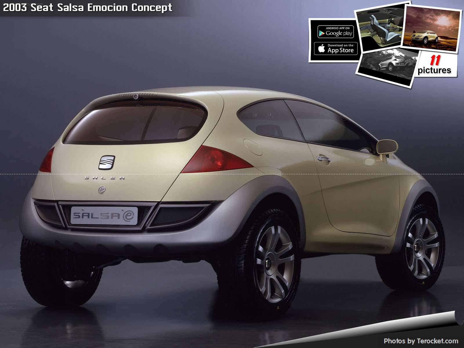 Hình ảnh xe ô tô Seat Salsa Emocion Concept 2003 & nội ngoại thất