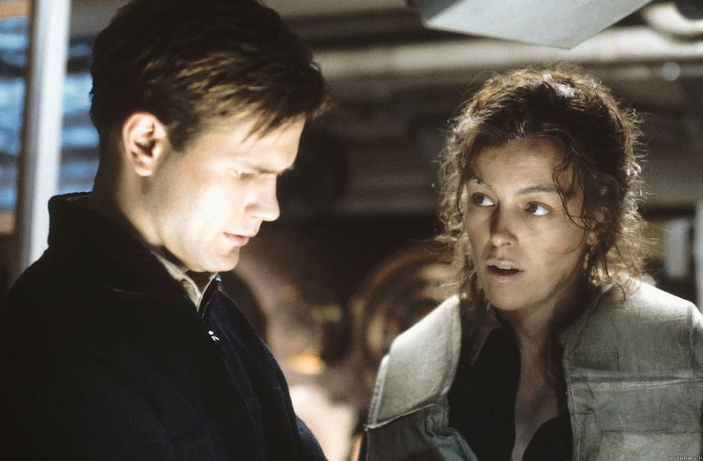 Bruce Greenwood and Olivia Williams in Below