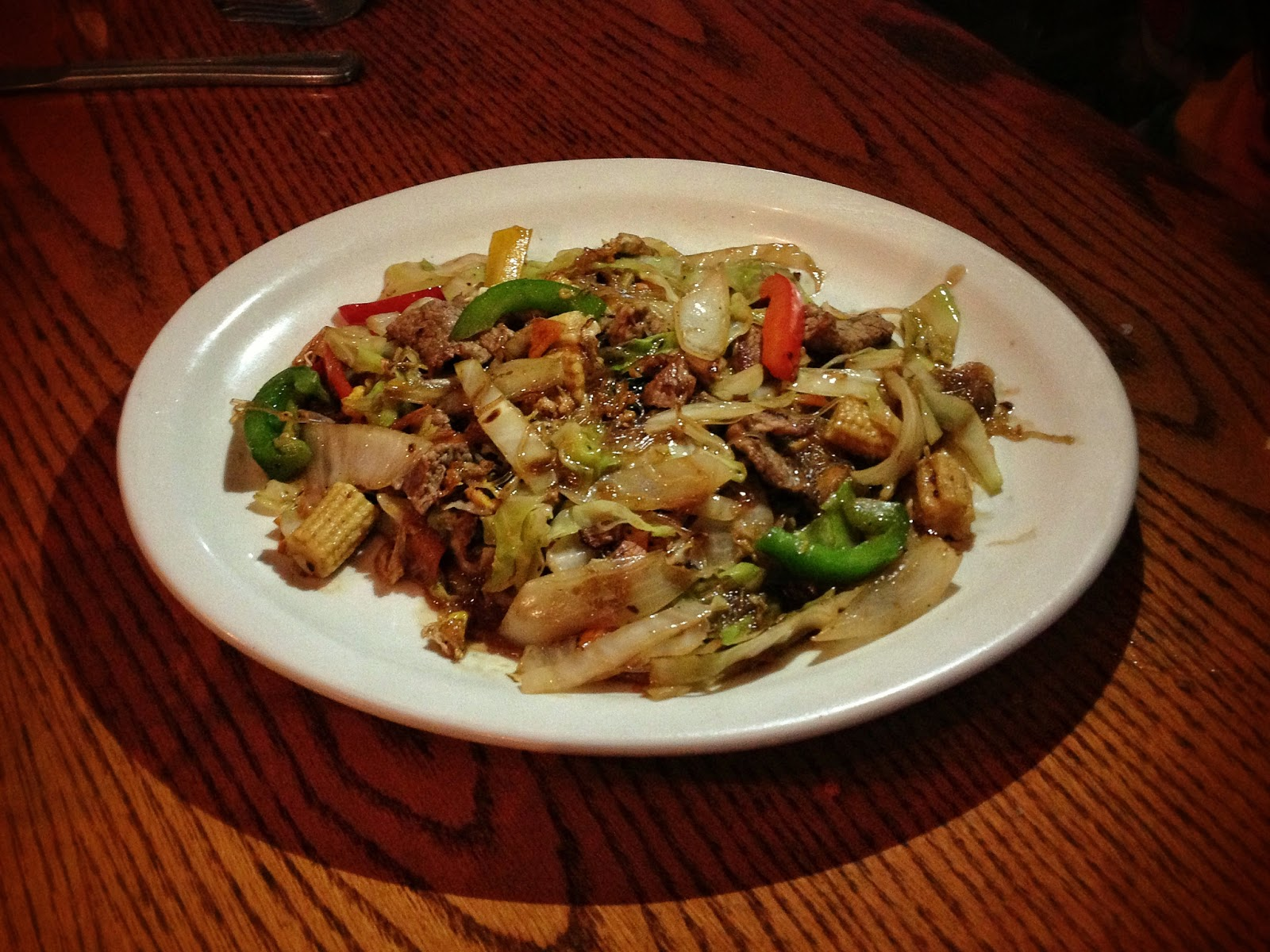 Pad Woon Sen  at Royal Thai restaurant in Nashville Tennessee
