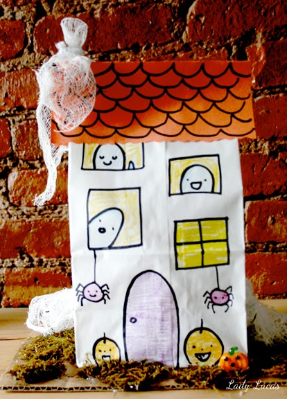 Linzer Lane Make Your Own Paper Haunted House