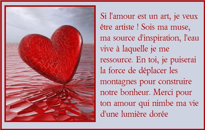 Carte et texte pour la saint valentin texte anniversaire - Carte pour la saint valentin a fabriquer ...