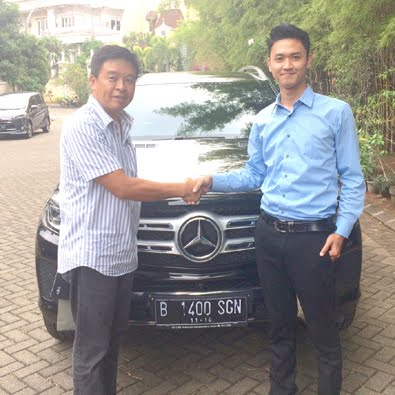 Delivery GLS 400 Exclusive a/n Bapak Subagja