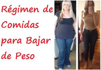 R gimen de comidas para bajar de peso plan para adelgazar - Cenas saludables para bajar de peso ...