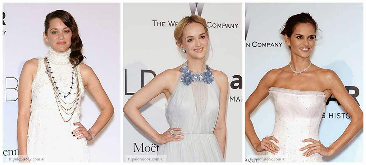 peinados 2014 de moda gala amfar