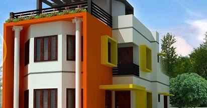 warna cat rumah yang bagus dan cerah untuk ruang lebih luas