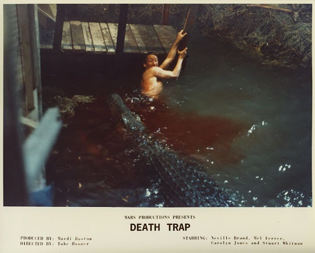 Robert Englund Eaten Alive crocodile