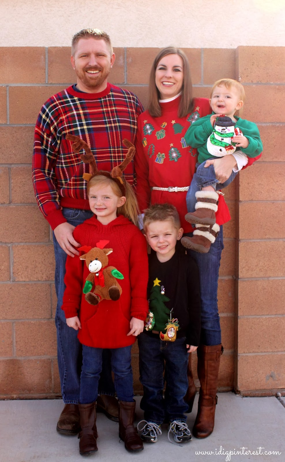 Ugly Christmas Sweaters Reveal Send A Holiday Smile With Open Me