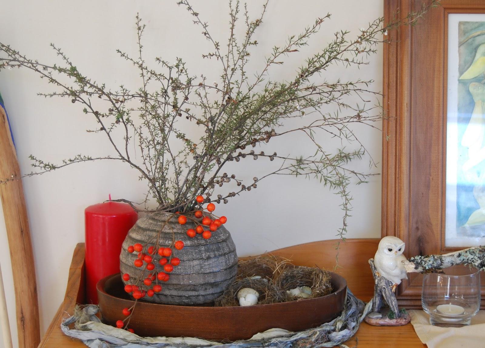 Ol Mother Hubbard In Lieu Flowers Winter Mantel