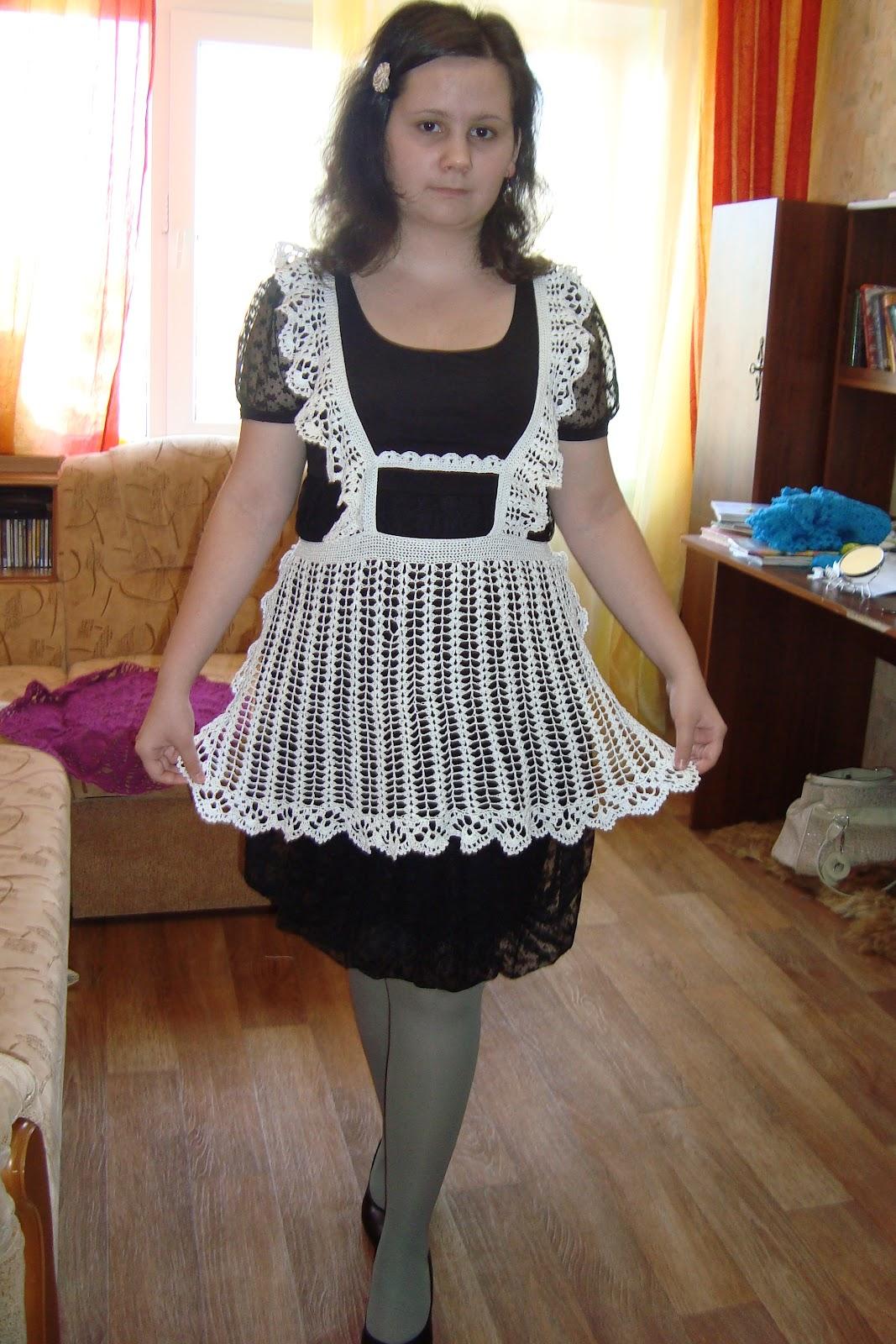 Как сшить платье школьницы