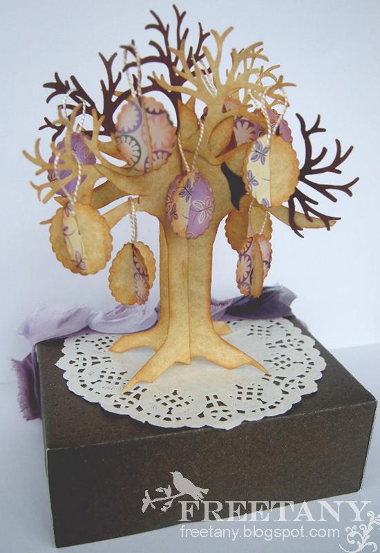 Пасхальное дерево мастер класс от