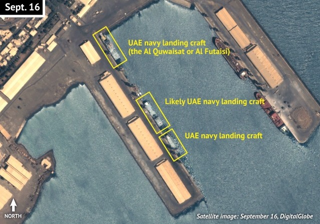 Assab%2BUAE Eritrea: UAE likely be Building Naval Facility in Eritrea
