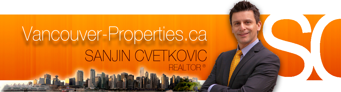 Sanjin Cvetkovic,  real estate specialist for downtown Vancouver