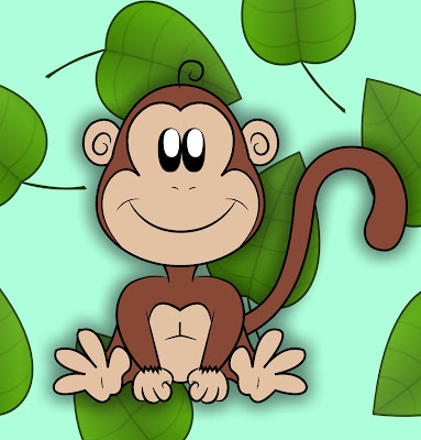 monkey cartoon wallpaper - photo #8