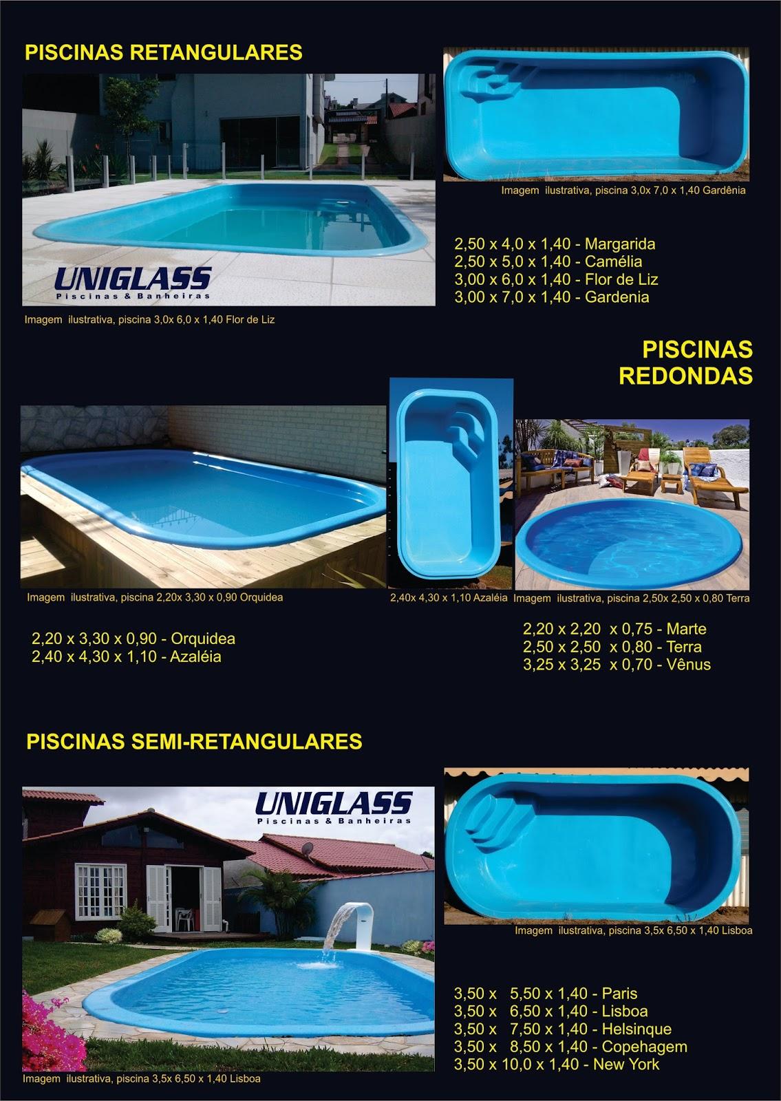 Cat logo de piscinas uniglass spas piscinas e banheiras - Catalogo de piscinas ...