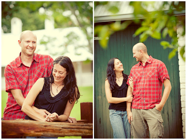 Tranby House couple portrait