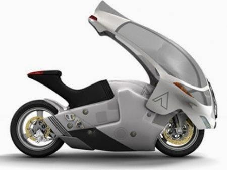 Gambar Motor Futuristik