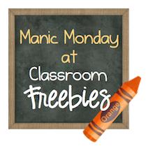 http://www.classroomfreebies.com/2014/07/Manic-Monday.html