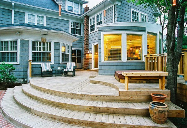 wooden stairs | Outdoor furniture