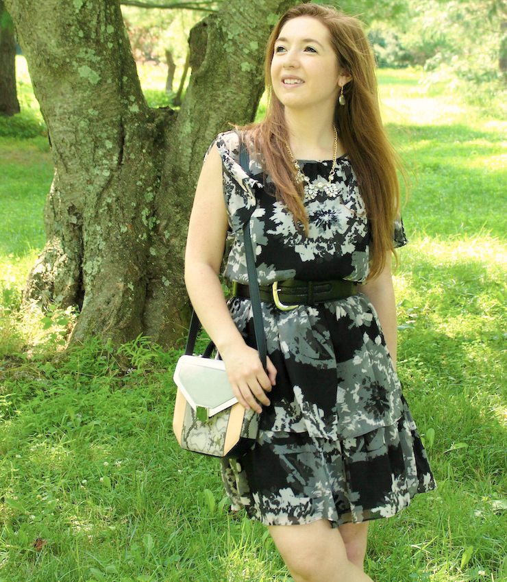 how to make a dressy dress look casual