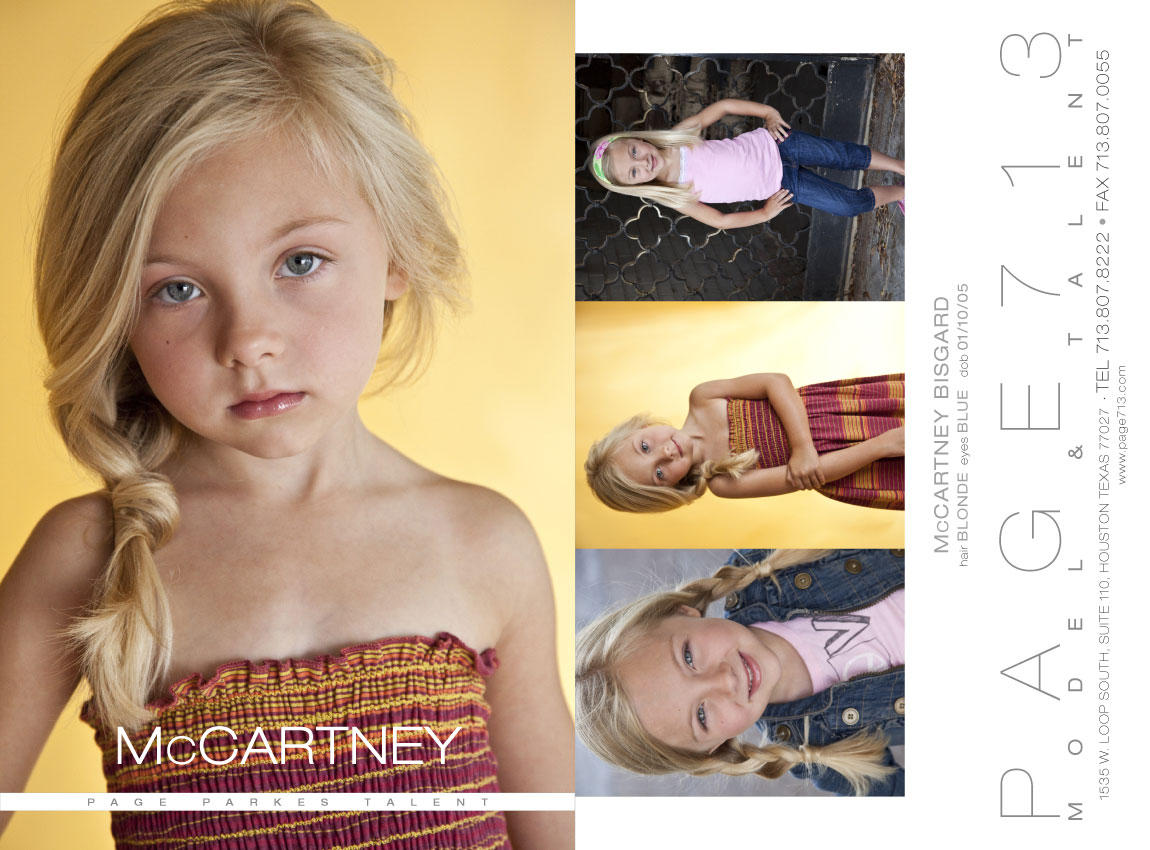 So proud of our sweet McCartney Bisgard for booking a commercial with ...