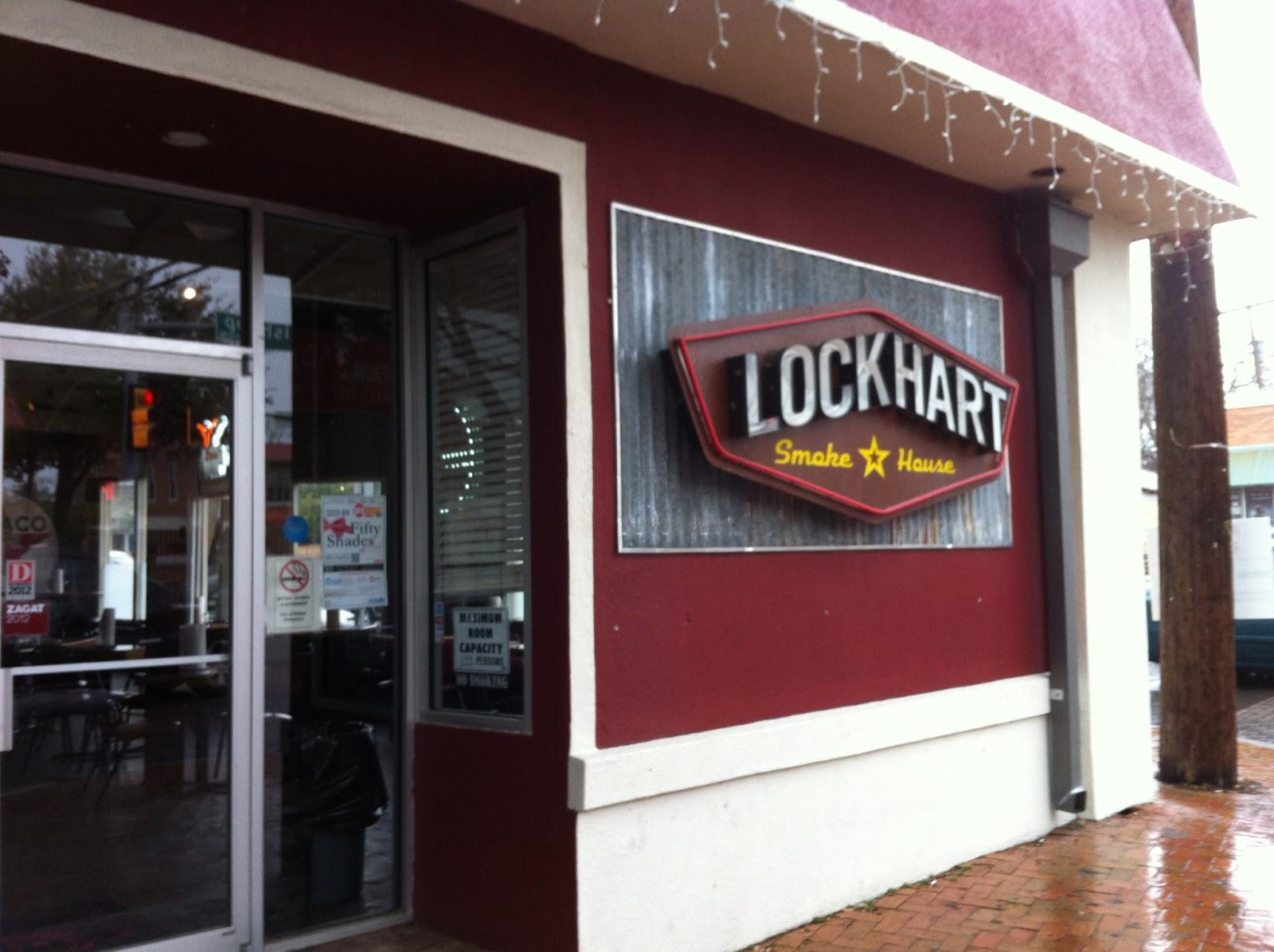 Lockhart Smokehouse Dallas BBQ Barbecue Barbeque Bar-B-Que Ribs Brisket Sausage Kreuz Clod Pork Beef