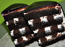 RUSSIAN BLACK &amp; WHITE CAKE