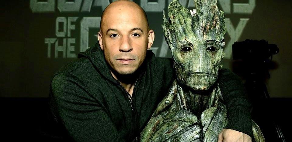 Vin Diesel dubla seu personagem de Guardiões da Galáxia em português e outros idiomas