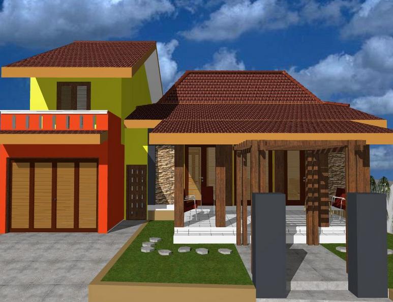 & Contoh Desain Rumah Joglo Minimalis Terbaru dan Menarik