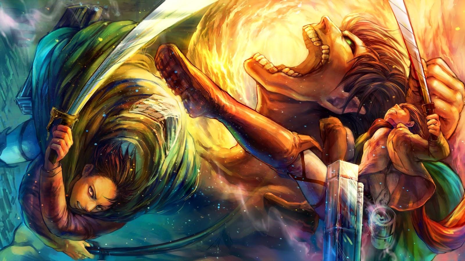 Rogue-Titan-eren-Jaeger-Levi-Cape-Attack-on-Titan-Shingeki-no-Kyojin ... Attack On Titan Survey Corps Iphone Wallpaper