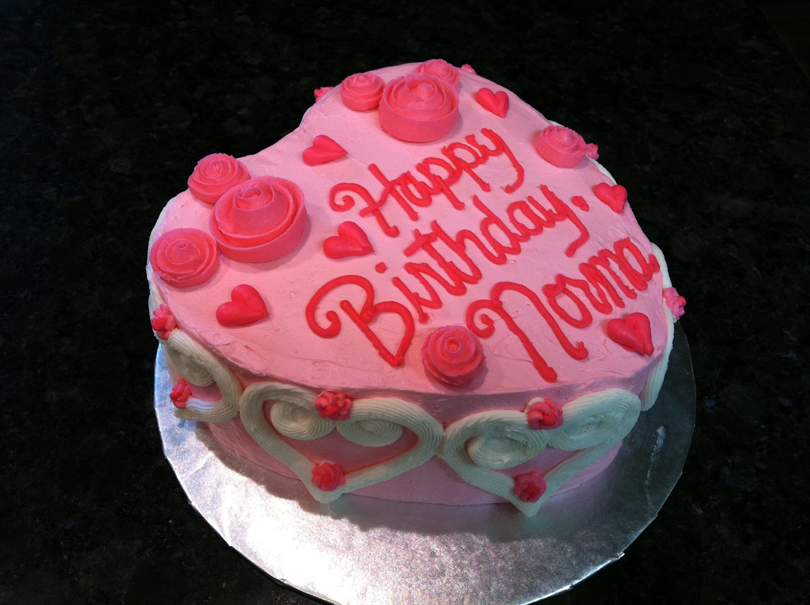 Displaying 19> Images For - Valentine Birthday Cake...