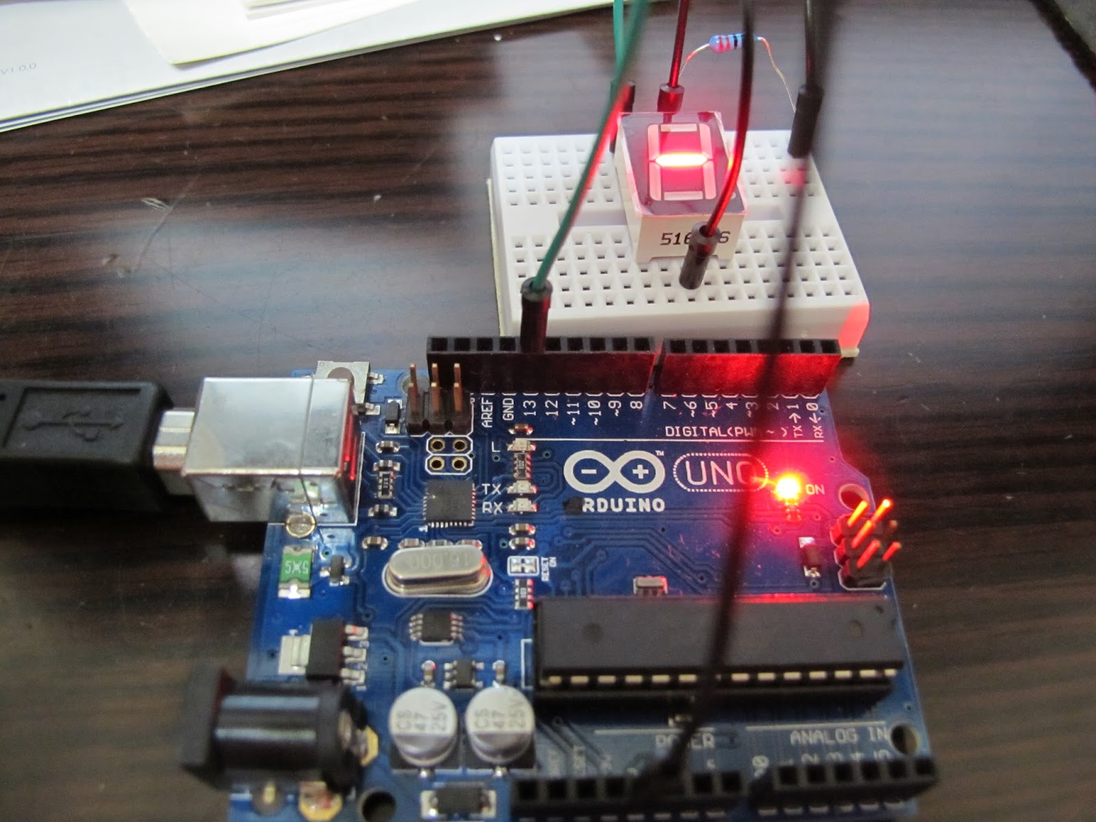 Alanh0 Research Blog August 2015 Counter Using 7 Segment Display Public Circuit Online Building The As Below Connect Seven Displays Pin Number 7a To Arduino Pin2 6b Pin3 4 C 2 D