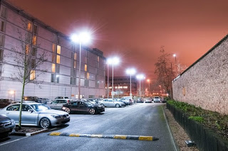 LED Car Park Lighting Jupiter Marriott Hotel