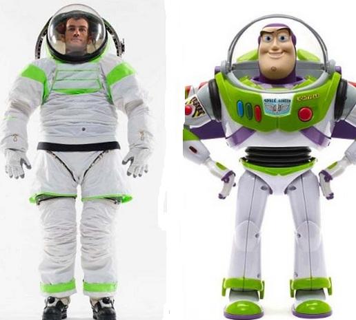 Traje NASA impresión 3D