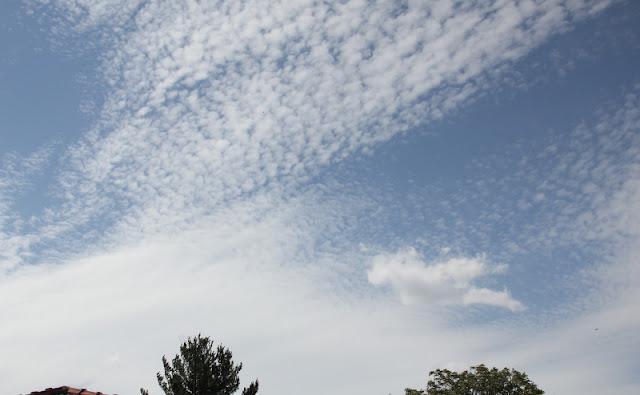Tempête à Lyon : ciel d'après-midi