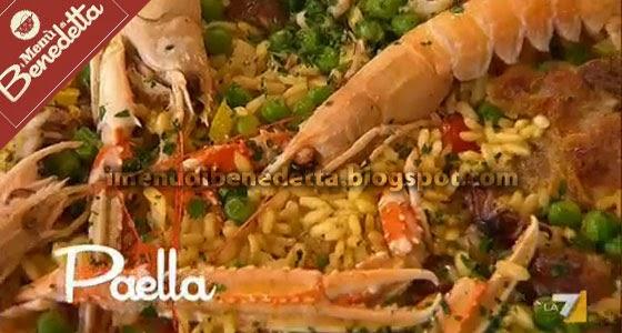 Paella la ricetta di benedetta parodi for Ricette di benedetta parodi