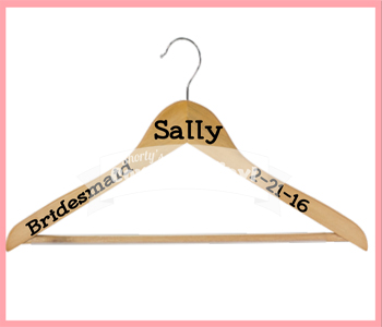 Wedding Party Attire Hangers