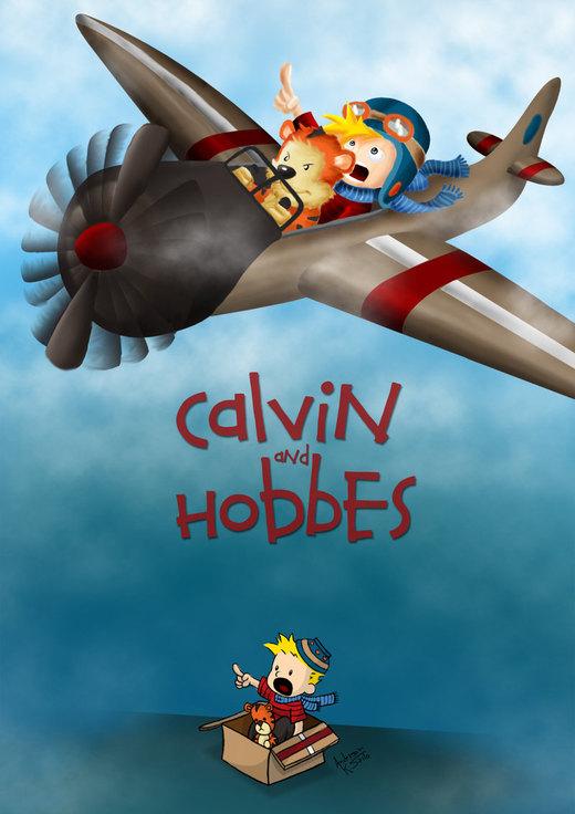 Calvin and Hobbes por andersaito
