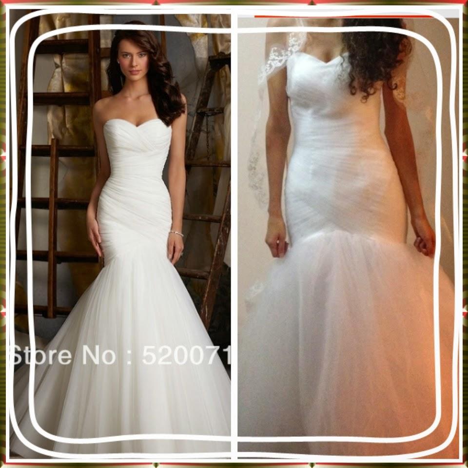 Comprar vestidos de novia por internet en china