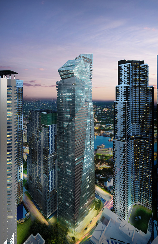 Century Spire Offices and Residences by Khad In Partnership with Armani/Casa and Daniel Libeskind
