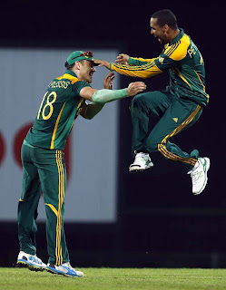 South Africa beat Sri Lanka by 56 runs
