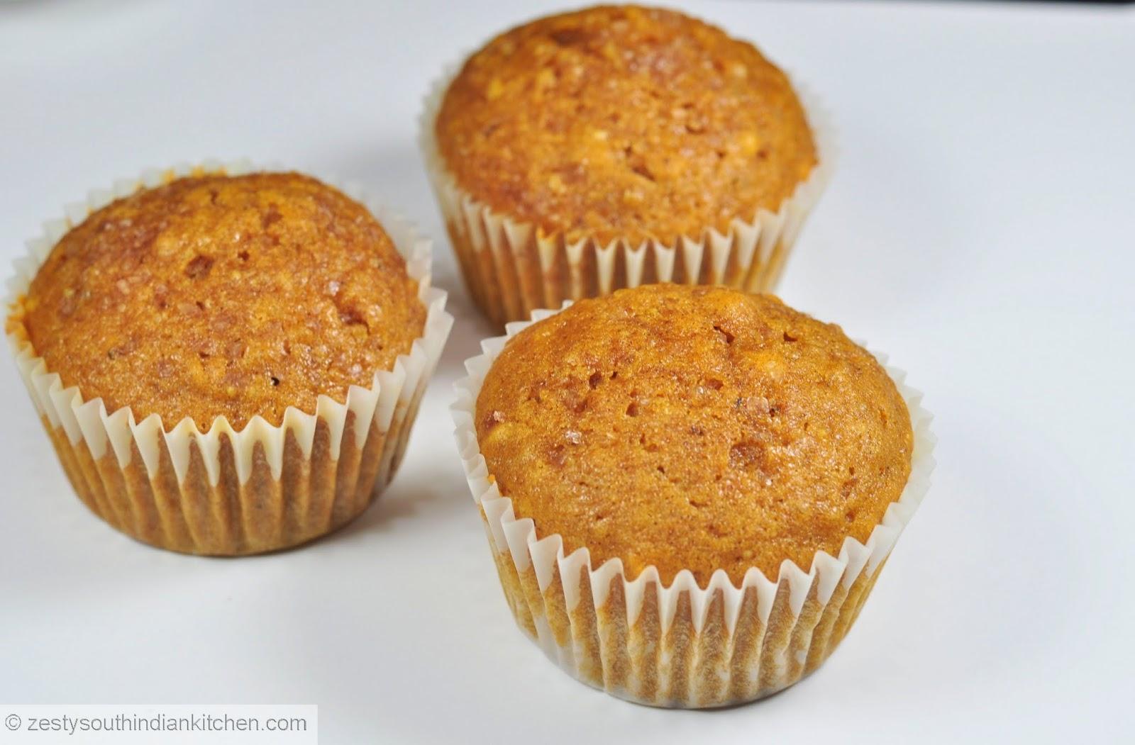 Pumpkin Quinoa Cashew nut Muffins: Baking Partners Challenge #3 ...