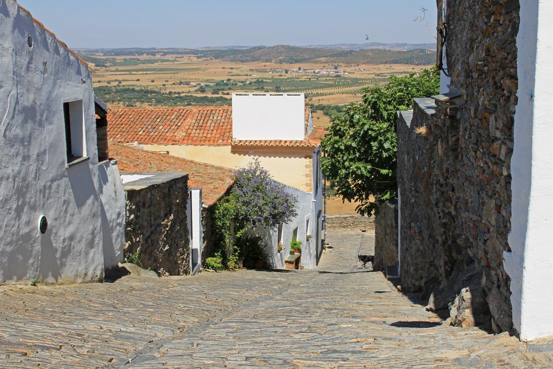 Monsaraz, steile straatjes
