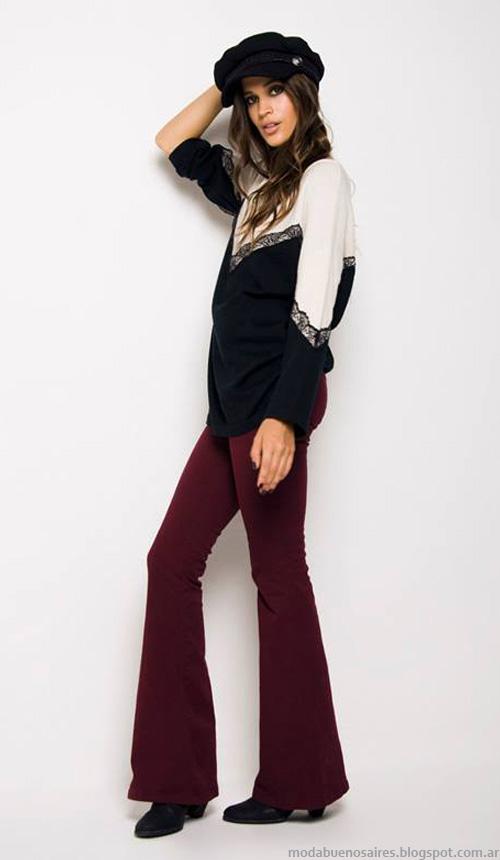 Pantalones oxford moda otoño invierno 2014. Doll Store otoño invierno 2014.