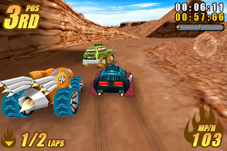 Burning Tires 3D Symbian^3 Game Download Free