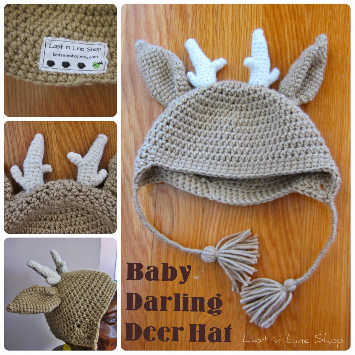 Last in Line Shop: Baby Darling Deer Hat