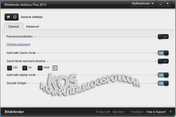 Bitdefender AntiVirus Plus 2013 Build 16.21.0.1504 Final (x86/x64) Incl Activator ~ ULTI MEDIA PRO